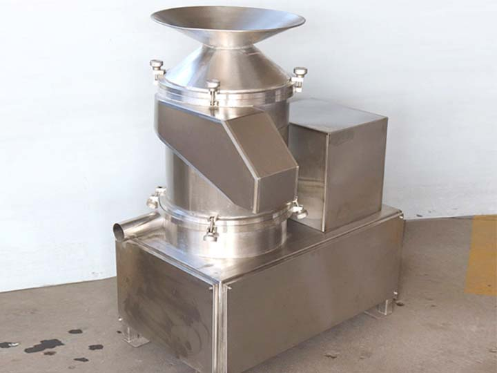 Small egg breaking and separating machine