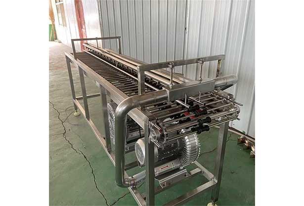 egg air drying machine