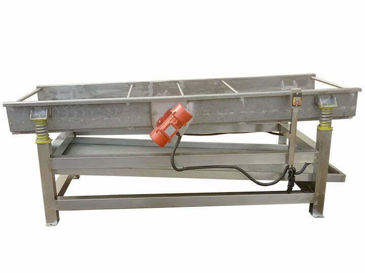 Vibration cloth machine