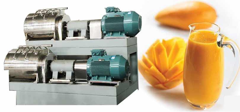 mango juice pulping machine