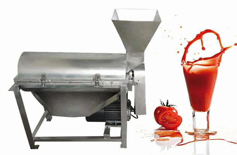 tomato paste making machine