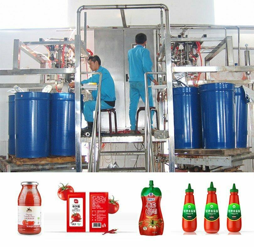 tomato sauce ketchup filling machine