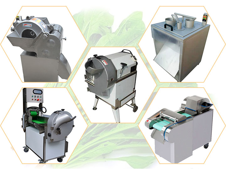 5types of vegetable cutting machines