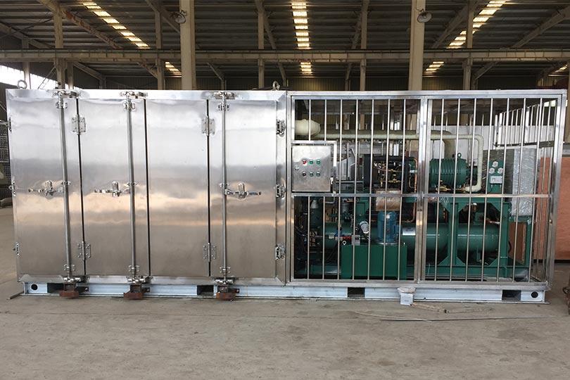 Shrimp contact plate freezer machine export to Pakistan