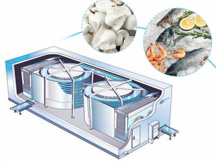 Spiral belt freezer for sale