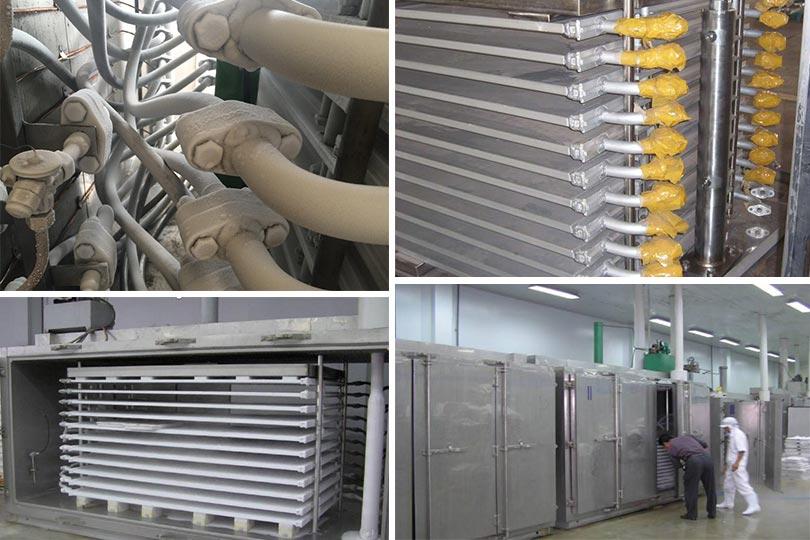 aluminum plate freezer machine details
