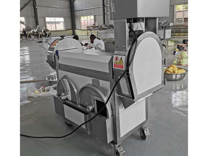 vegetable cutting machine deliver to Singapore
