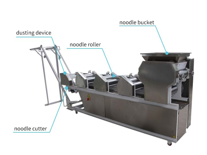 dry noodle making machinery structure