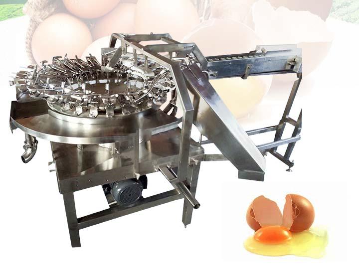 egg breaking seperating machine
