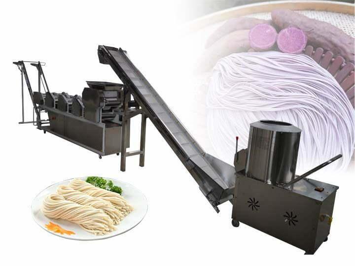 industrial noodle production line