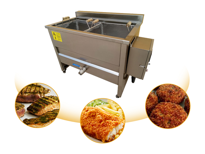 small fish cutlet fryer