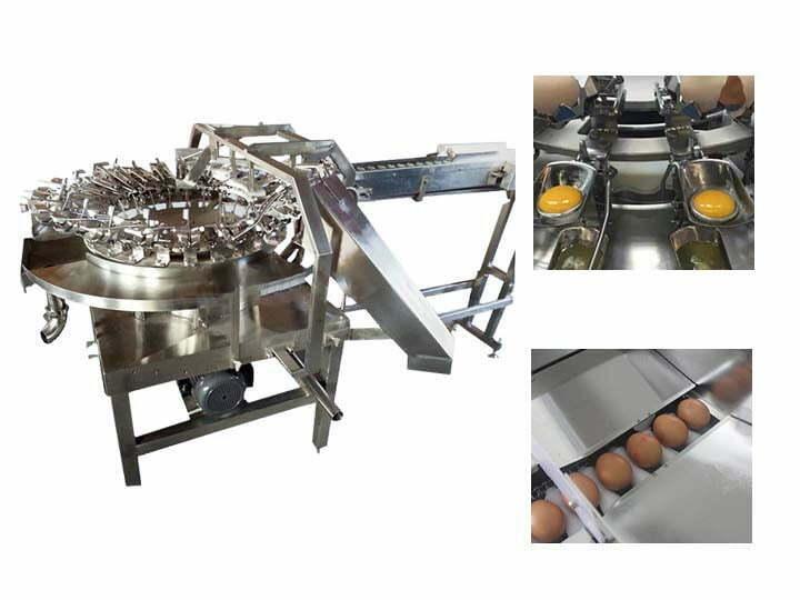 commercial egg breaking machine