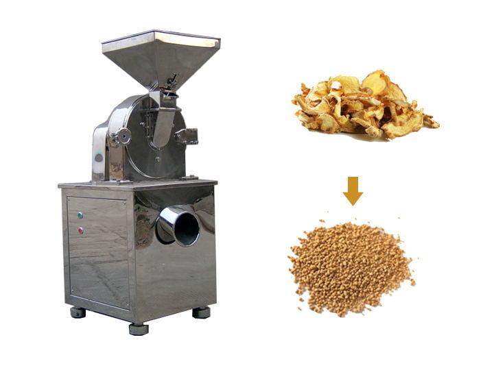 ginger powder making machine
