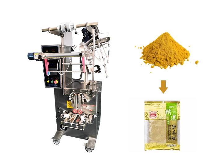 ginger powder packaging machine