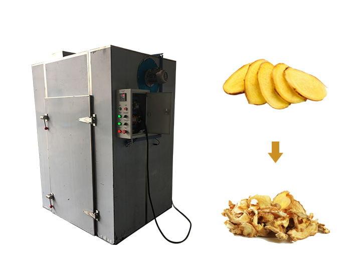 ginger slice drying machine