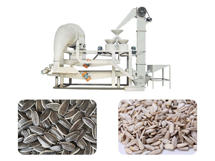 how to shell sunflower seed