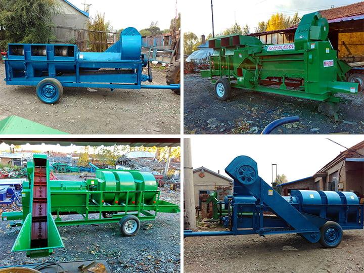 pine nut thresher sheller machine