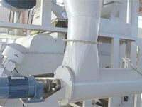 separator and screw unloader