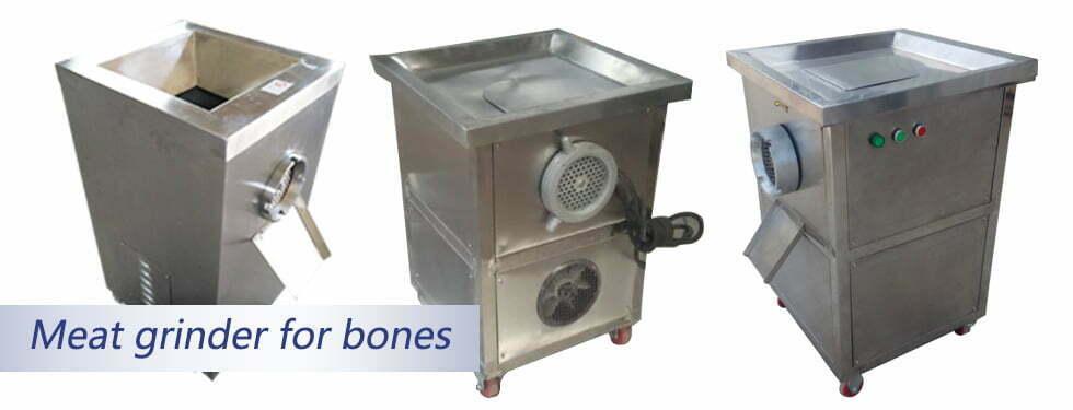 Poultry bone grinder