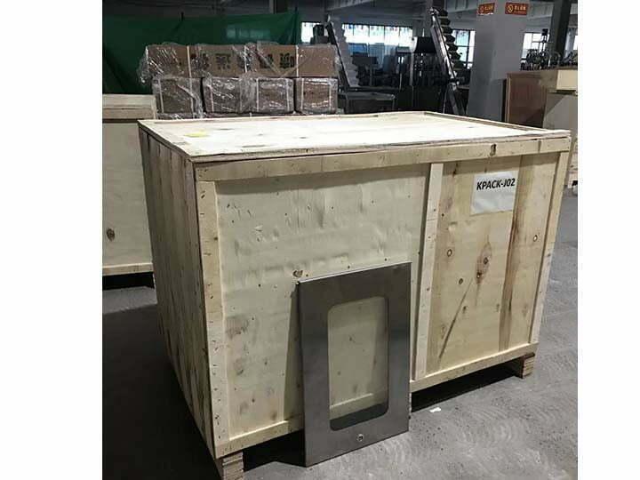 animal bone crusher machine in wooden package