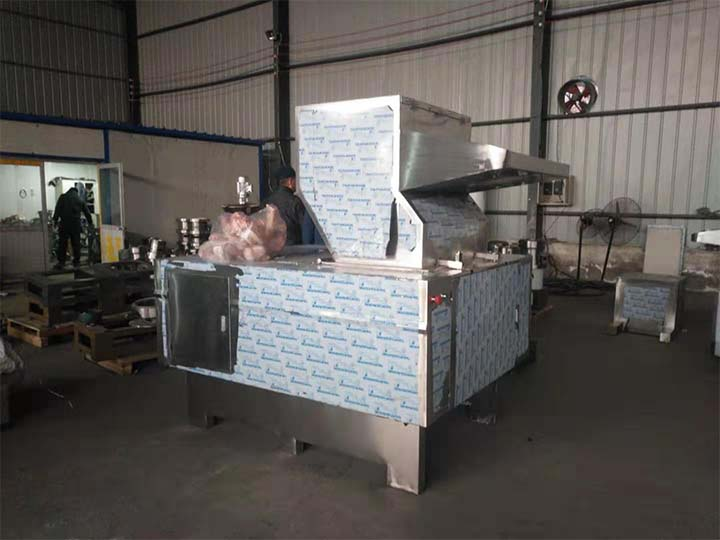 commercial beef crusher machine sold to Kenya