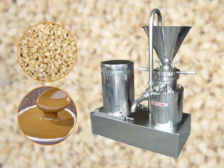 commercial tahini grinding machine