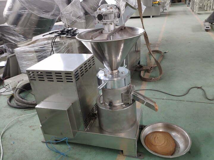 commercial tahini making machine