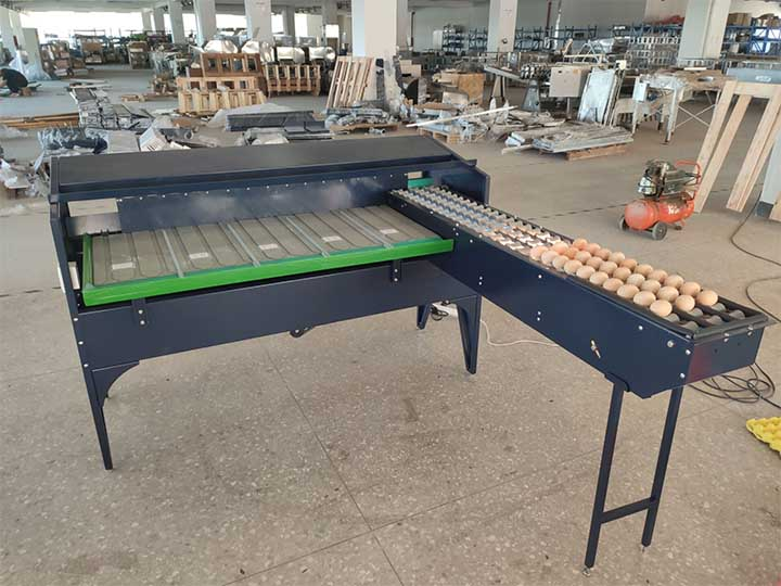 egg grading machine sold to Philippines