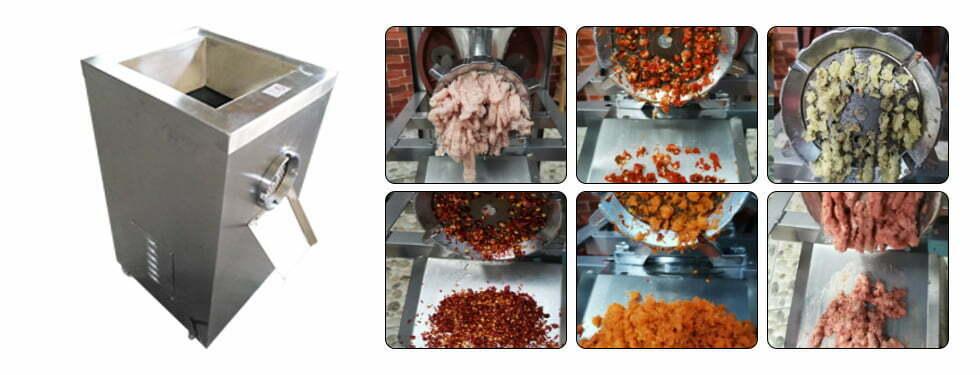 electric meat bone grinder machine