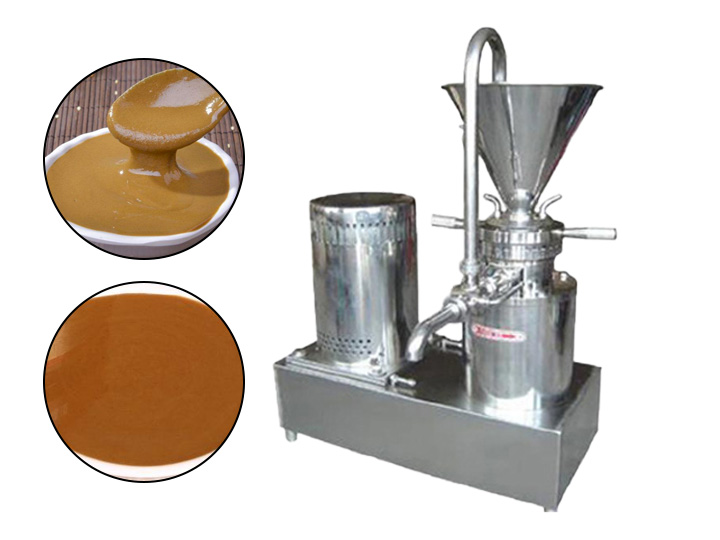 make sesame paste with the commercial machine