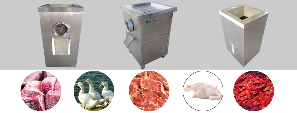 meat bone grinder machine application